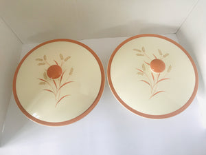 1955 Royal Doulton 2 x Lidded Serving Dishes (7774)