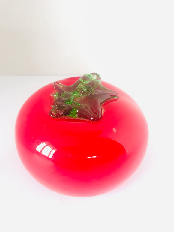 Vintage Art Glass: Tomato (7810)