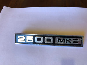 Triumph 2500 Mk2 Car Badge(8124)