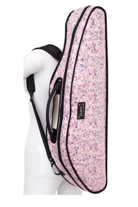 Bam HO2000XLF Hoody for Hightech Slim Violin Case - Flowers