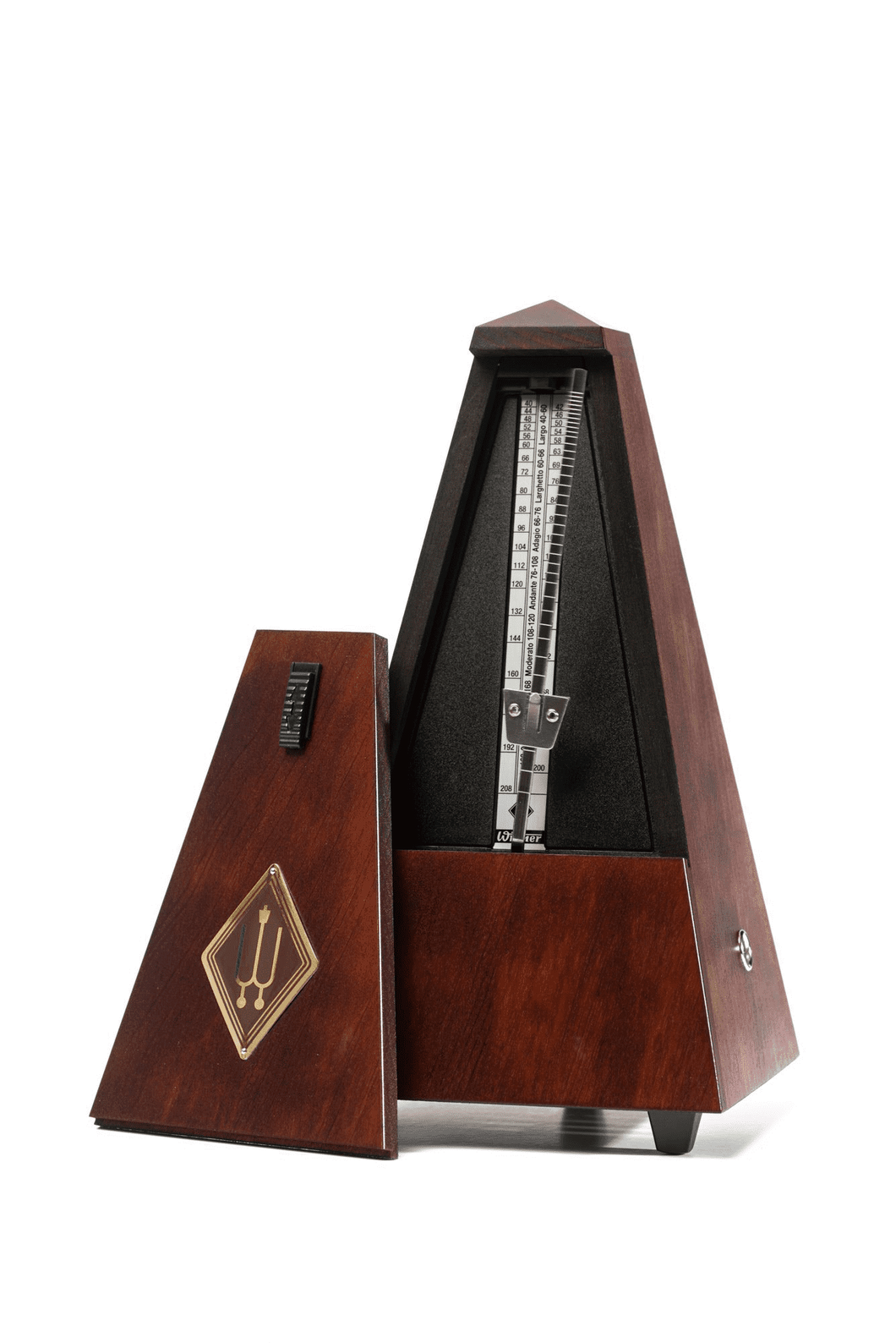 Wittner Maelzel Metronome without Bell - Mahogany
