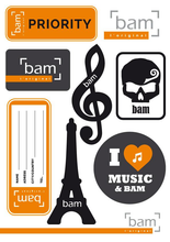 Bam Stickers - Classic Collection