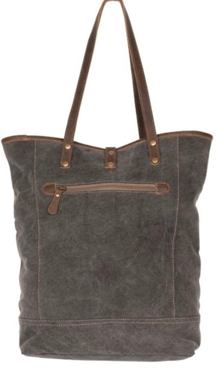 Myra- Art On Canvas Tote Bag