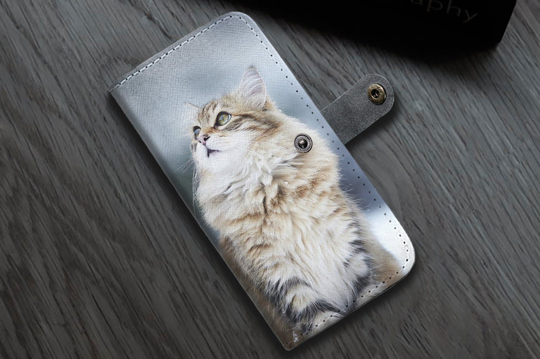 Cat Wallet Case