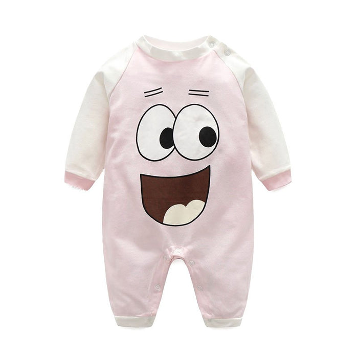 Cute Cartoon Baby Climbing Clothes - alikasa store