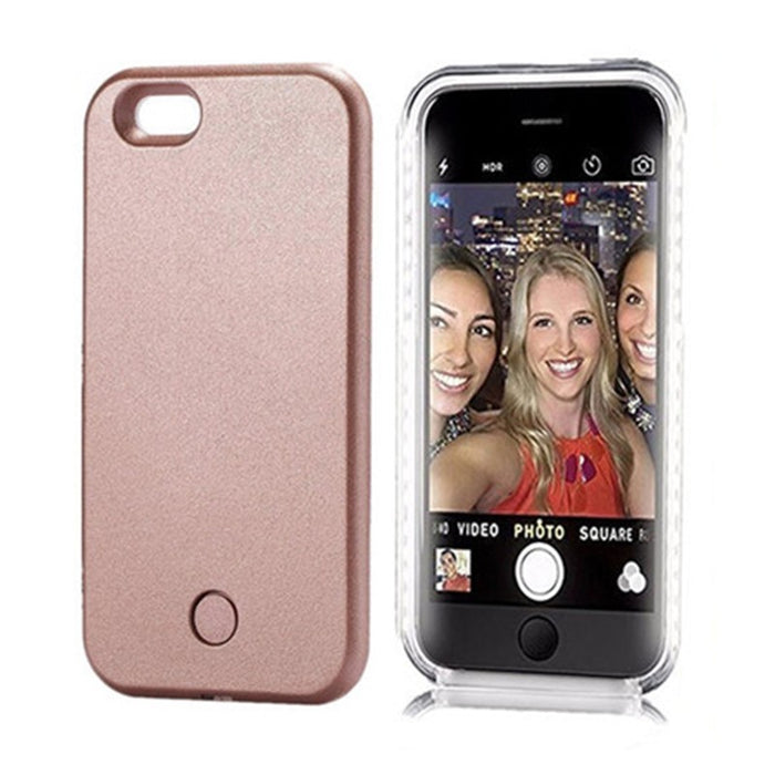 LED Selfie Luminous Flash Phone Cover - alikasa store
