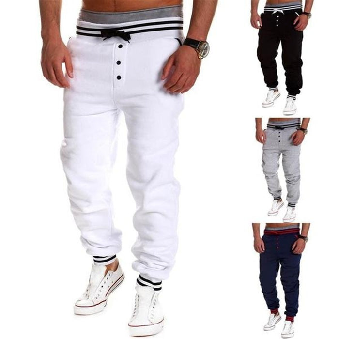 Casual Skinny Jogging Sweatpants - alikasa store