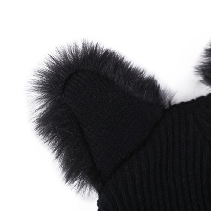 Cat Ear Fur Hat - alikasa store