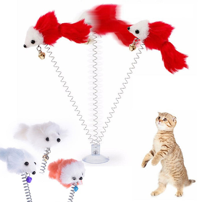 3Pcs Funny window Cat Toys