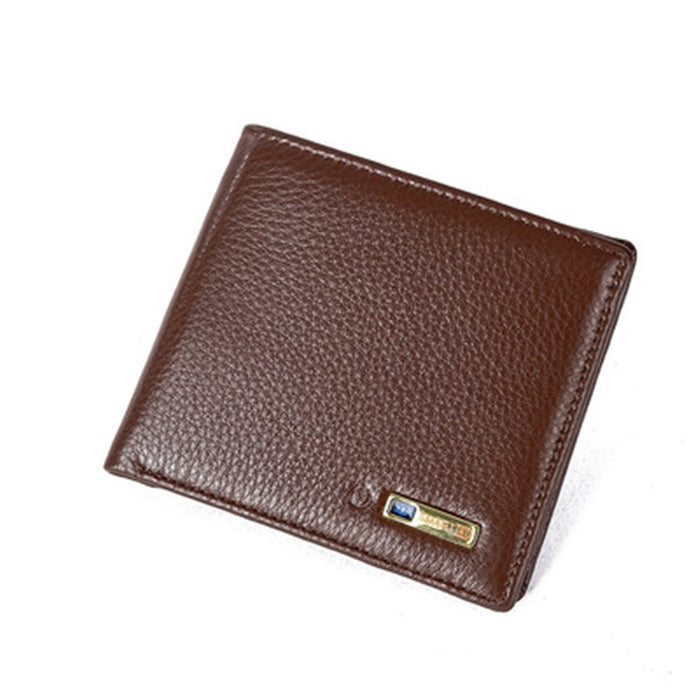 Anti - Theft Men's Wallet