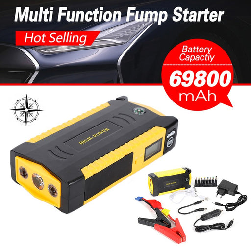 Car Mobile Power With Air Pump