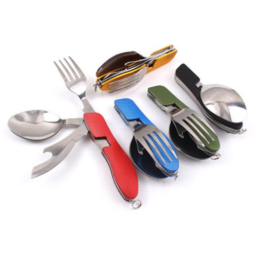 Camping Folding Combination Tableware