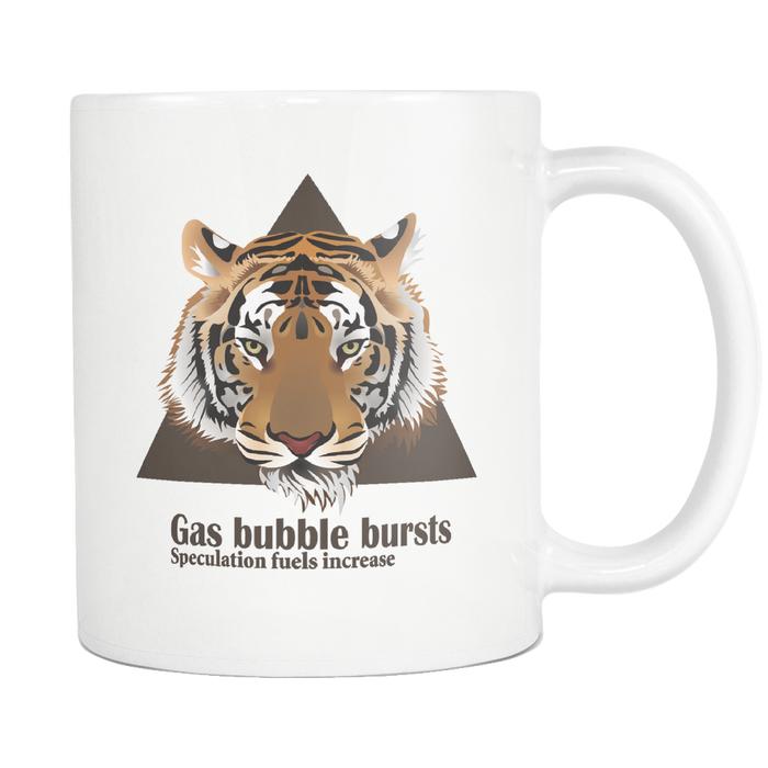 Gas Bubble Bursts - Mug