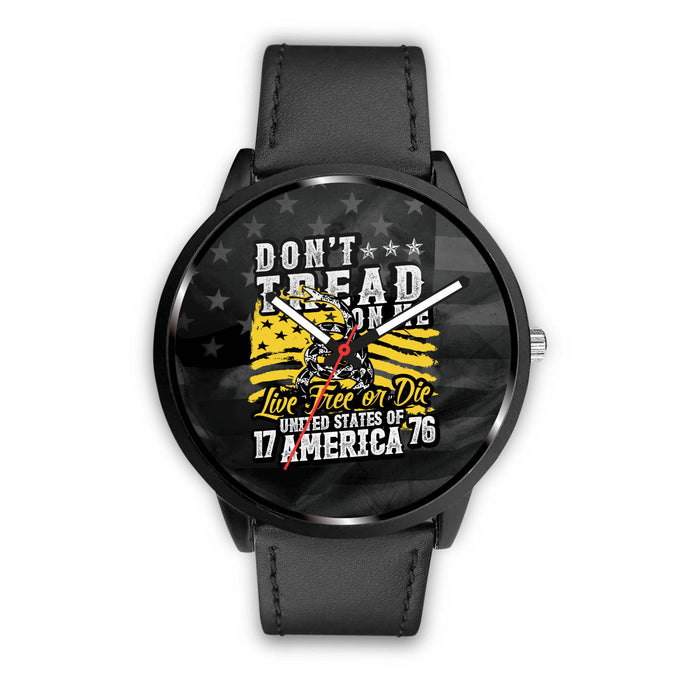Don't Tread on me live free or die united states of america - watch