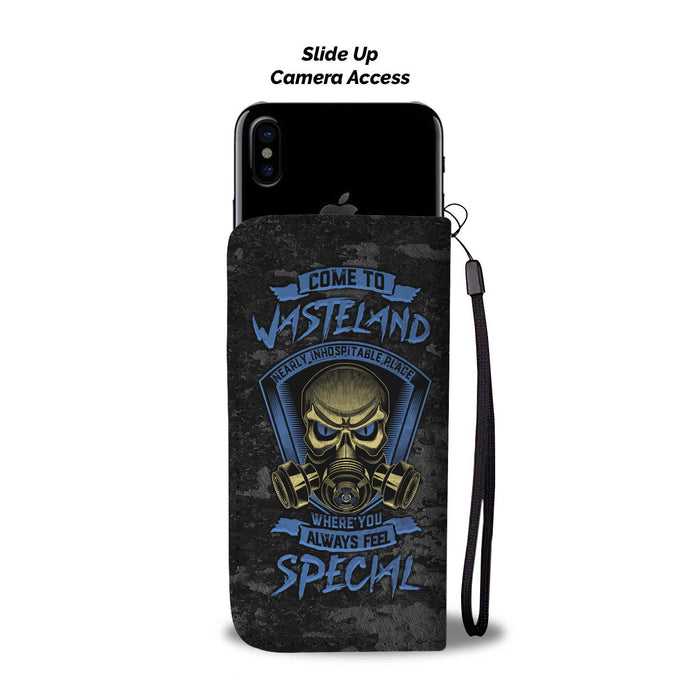 Come to Wasteland where you always feel special - wallet case