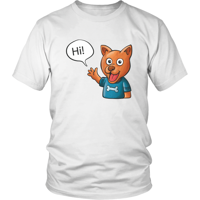 Hi - District Unisex Shirt