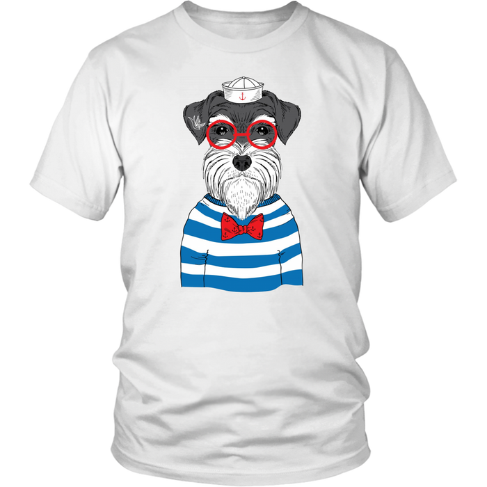 Grandfather dog - District Unisex Shirt