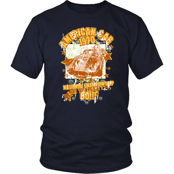 American Car 1970 - District Unisex Shirt