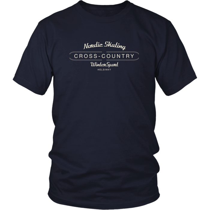 Cross country - District Unisex Shirt
