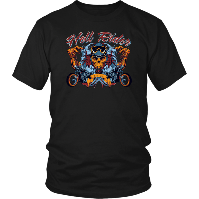 Hell Rides - District Unisex Shirt