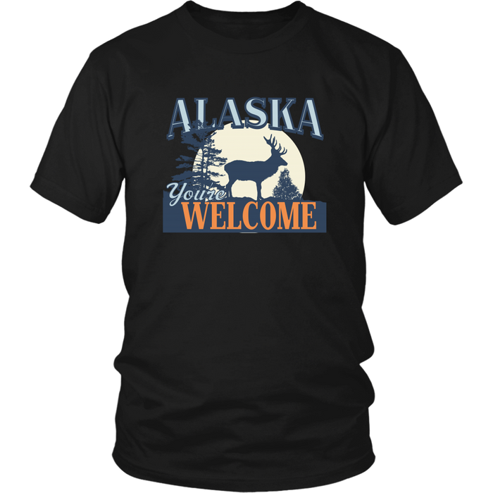 Alaska Welcome - District Unisex Shirt