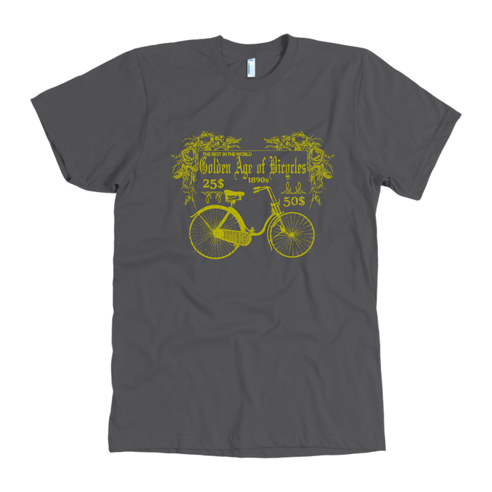 Golden Age of Bicycle - American Apparel Mens