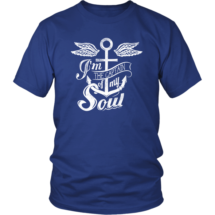 I'm The Captain Of My soul - District Unisex Shirt
