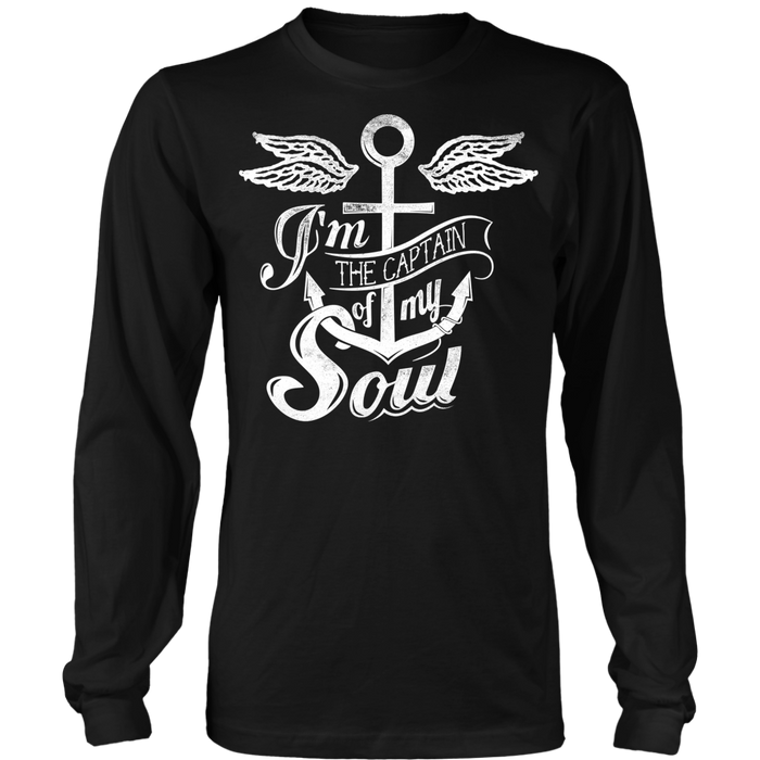 I'm The Captain Of My soul - Long Sleeve Shirt