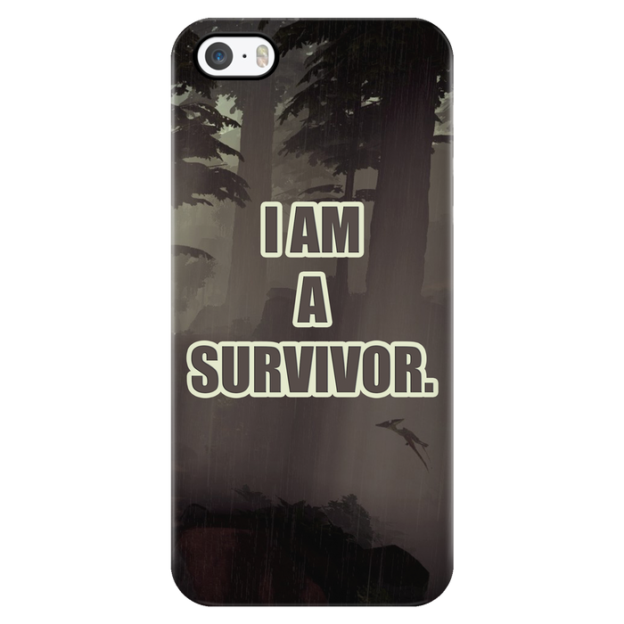 I am a survivor. Phone Cases