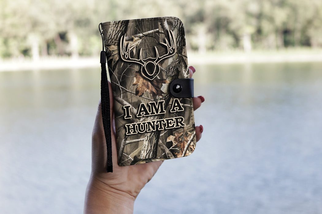 I AM A HUNTER- Wallet Case
