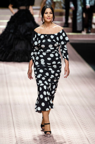 dolce and gabbana polka dot dress