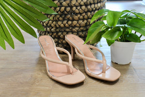 Blush Isley Heeled Sandal