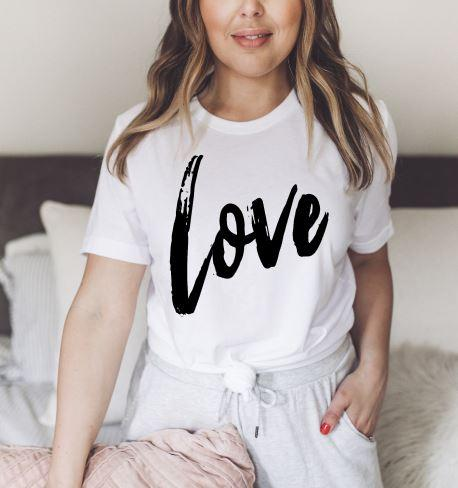 Brushed Love Tee