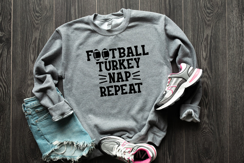 Football and Nap Tee