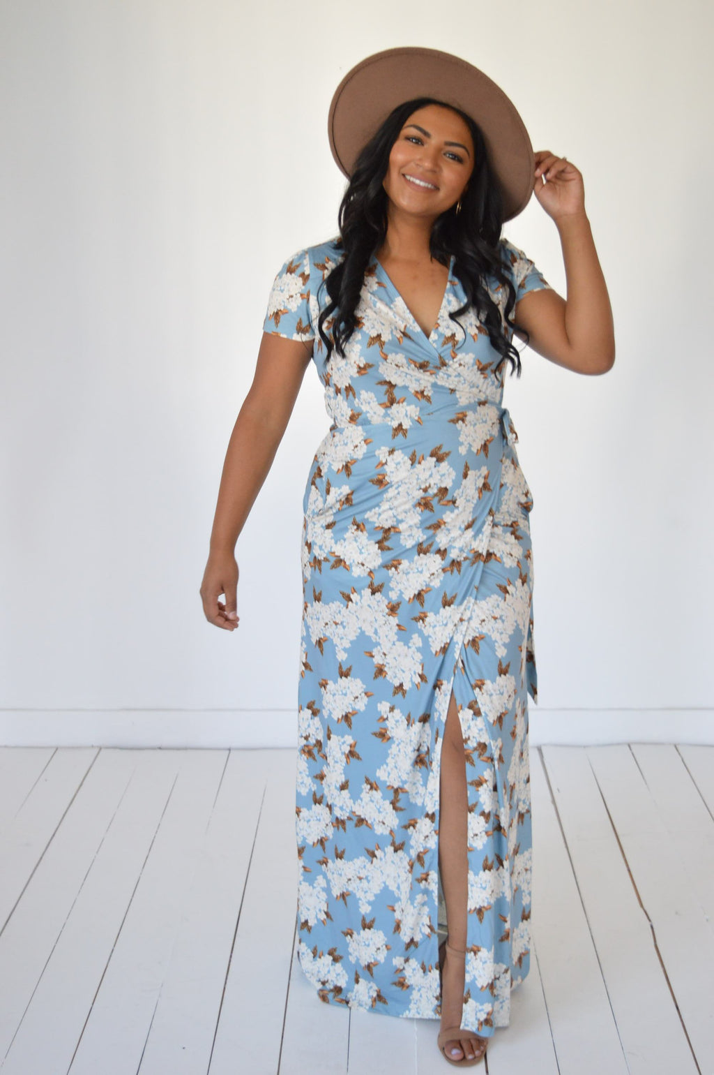 Always Dreaming Floral Maxi Dress