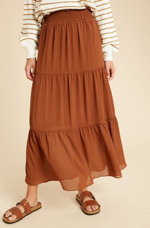 Don't Miss Out Maxi Skirt