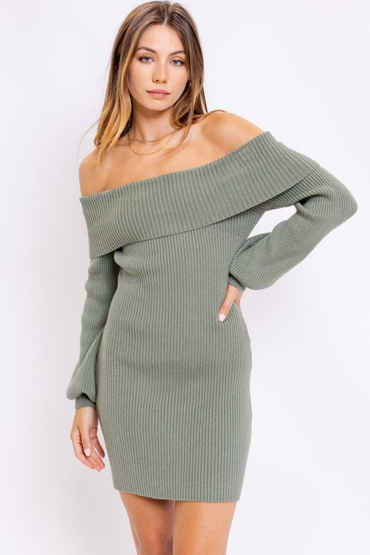 Fall For Me Sweater Dress