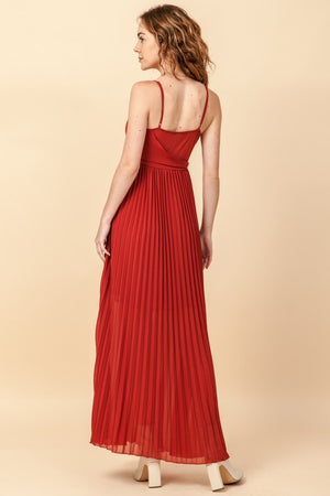 Happy Holidays Wine Maxi Dress