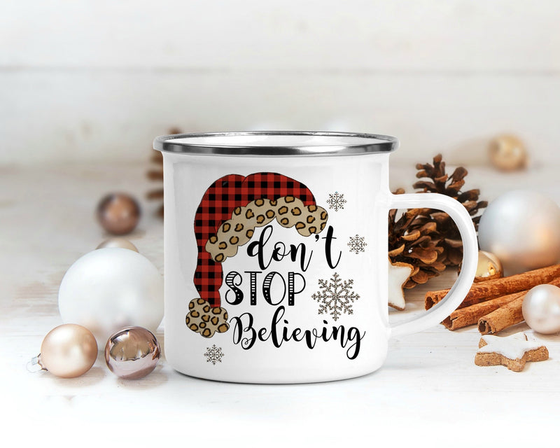 Don't Stop Believing Campfire Mug