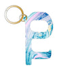 Blue Marble Hands Free Key Chain