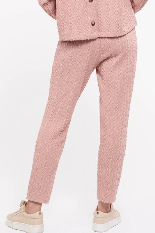 Lazy Days Pink Joggers