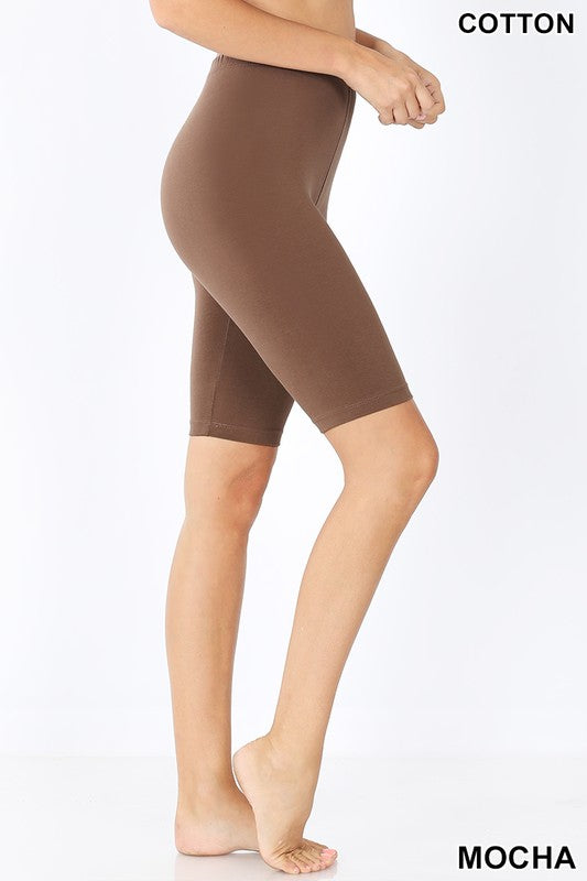 Mocha Bermuda Short Leggings