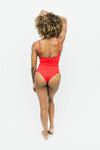 Madison Red One Piece