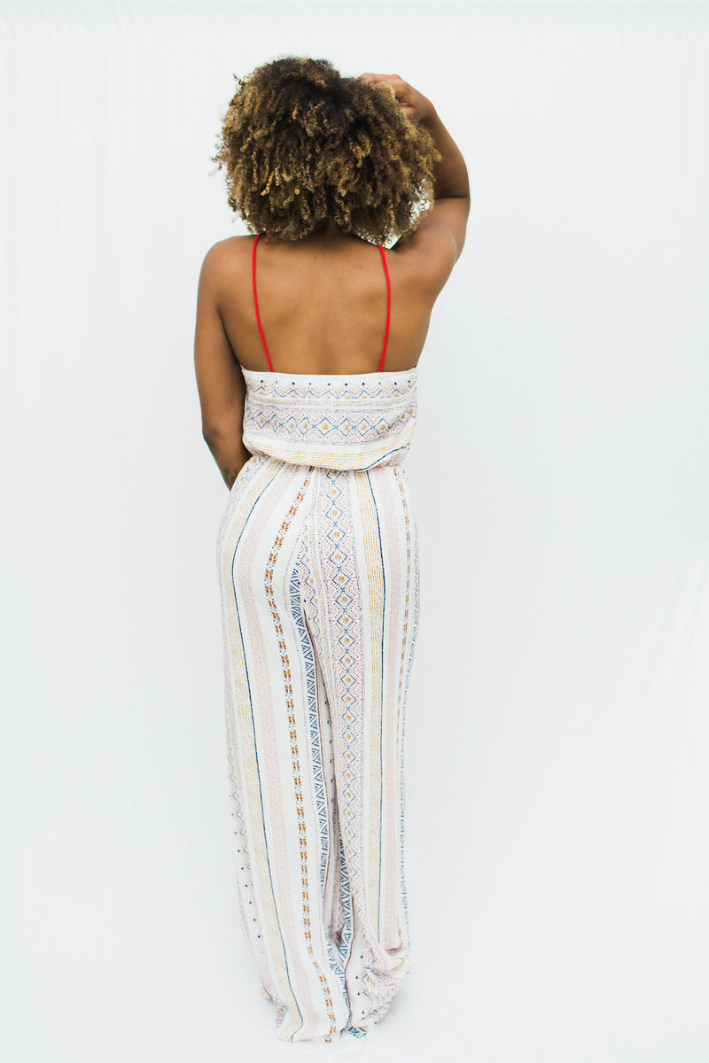 Bree High Neck Jumpsuit