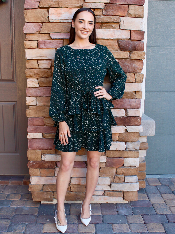 Evergreen Isla Dress