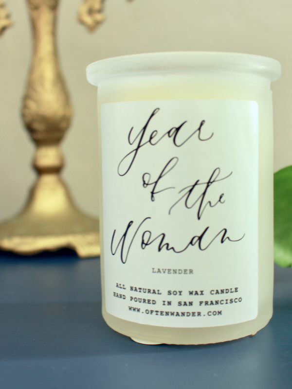 Year Of The Woman Candle
