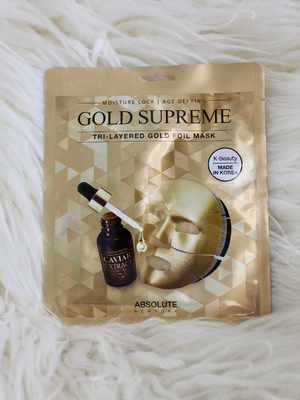 Gold Supreme Mask