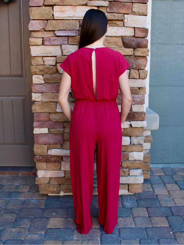 Berry Sky Jumpsuit