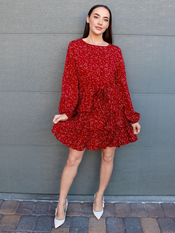 Red Brick Isla Dress