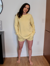 Feel At Home Yellow Pullover